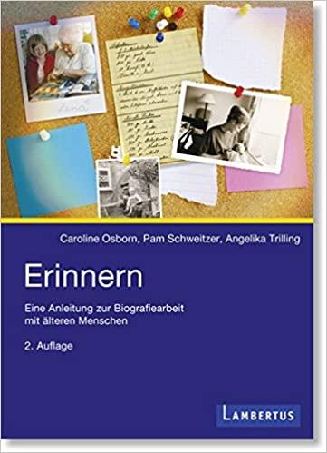 Buch Erinnern - Eine Anleitung zur Biografiearbeit