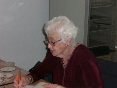 Das Bild zeigt Naomi Feil - aufgenommen im Oktober 2012